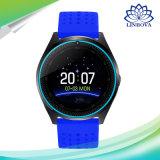 Intelligente Uhr des OLED Bildschirm-V9 mit Bildschirmanzeige der runden Form-1.22inch