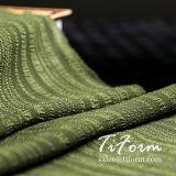 50d 폴리에스테는 여름 복장을%s 모조 실크 직물을 줄무늬로 했다
