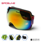 Ski-Glascer-Anti-Sractch widergespiegelte Sonnenbrillen polarisierten Snowboard-Schutzbrillen
