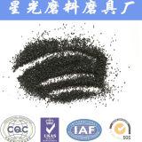 Для матирования зернистостью карбида кремния черного цвета песка Metallurfical 88%
