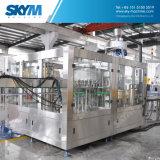 新しい条件水充填機の生産ライン