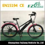 """クラシック26 """"女性のための電気浜の巡洋艦の自転車Eの自転車"""