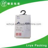 Etiquetas de papel de la caída de la ropa de Folden de la impresión de encargo