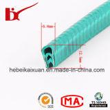 Em forma de U flexível guarnição de borda a borda da janela de plástico/Trim