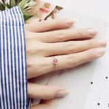 Nouveau mode Femmes de la chaîne en acier inoxydable bague réglable de doigt