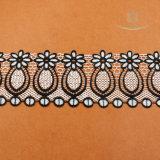 Cordón suizo africano material de nylon de la gasa