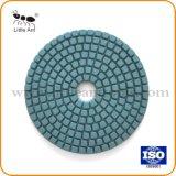 Vari tipi strumento differente del diamante del tampone a cuscinetti per lucidare del grado per la pietra di ceramica concreta del granito di marmo