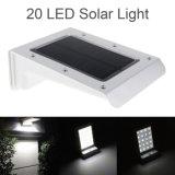 Im Freien Lampen-Solarwand-Licht der Beleuchtung-20 LED mit Bewegungs-Fühler
