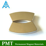 N45m de Magneet van NdFeB van het Segment van de Boog met het Magnetische Materiaal van het Neodymium