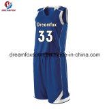 カスタムバスケットボールのジャージーデザイン中国からの卸売によって昇華させるバスケットボールのジャージ