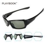 Classic Polarzied Seasun marco negro lentes de visión de la ciudad de mejor calidad de vida al aire libre gafas de sol