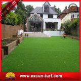 Césped sintetizado para ajardinar artificial de la hierba del jardín