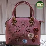 Les femmes populaire sac à main Fashion Mesdames sacs fourre-tout avec fleur SH326