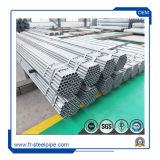 Tubo Gi Especificação de Classe B com rosca de tubo galvanizado pré & Braçadeira Gi tubo redondo de aço
