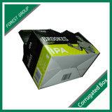 創造的なボール紙のペーパー6パックビール荷箱
