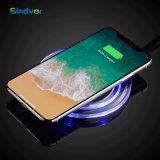 Chargeur de vente à chaud sans fil transparente pour les téléphones mobiles
