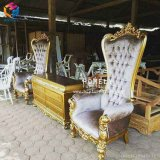 Le Roi de la Reine de meubles d'hôtel Wedding Chair à vendre Hly-Sf79