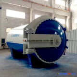 autoclave di gomma orizzontale approvata di Vulcanizating del riscaldamento di vapore del Ce di 2800X4500mm