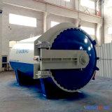 autoclave de goma horizontal aprobada de Vulcanizating de la calefacción de vapor del Ce de 2800X4500m m