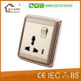 1 interruptor ligero eléctrico de la cuadrilla, instala fácilmente