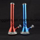 Nette Stärken-Glaswasser-Rohr-Becher-Form des Muster-7mm