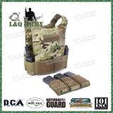 Het Militaire Kogelvrije vest van het niveau 3A met het Systeem van tijdschriftPouches&Molle