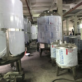 China Tanque de presión de acero inoxidable para la industria de bebidas