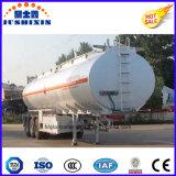 45000 litres, 50000 litres, 60000L Huile de la capacité du réservoir de carburant pétrolier de transport semi-remorque pour la vente