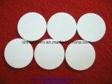 Disco de cerámica del alúmina blanco de la pureza elevada