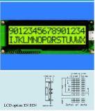 背部ライトが付いているStnの文字LCDモジュールStce16201