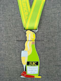 Подгонянное медаль эмали сувенира заливки формы
