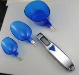 3本のABSスプーンが付いている500g 0.1gデジタルの台所食糧重量のスプーンのスケール