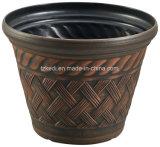 藤の表面のプラスチック植木鉢(KD9422SN-KD9423SN)