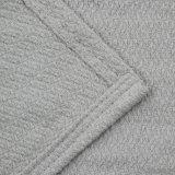 新しいデザイン100%年の綿のソファー毛布