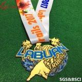 Fabrik-kundenspezifische Marathon-Ereignis-Preis-Medaillen mit Abzuglinie
