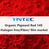 Colore rosso organico 149 del pigmento per plastica (alogeno libero)