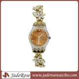 Geschäft überwacht wasserdichte Uhr-klassische Dame-Armbanduhren