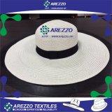Sombrero de papel de la playa de la paja de las mujeres (AZ020A)