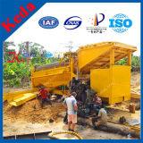 L'argile portable Gold Trommel épurateur d'or pour la vente de plantes de lavage