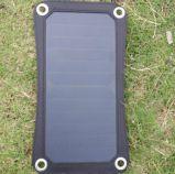 carregador solar portátil elástico macio flexível Foldable de pano do painel de potência do telefone móvel de 6W Sunpower