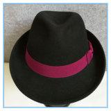 Мода шерсть считает Fedora Man Red Hat