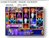 Magia Jackson-60 Line Gamble Máquina de juego de fichas de la máquina de juego de la máquina de juego de la ranura