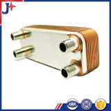 cambiador de calor cubierto con bronce 316L de la placa para el compresor de aire