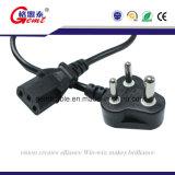 steckbare Überwachungskamera-Stromversorgung CCTV-24V1a mit südafrikanischem Stecker