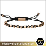 De in het groot Kleine Armbanden van het Macramé van Parels, Douane Gevlechte Armband Msbb008
