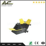Kanal-Kabel-Schoner-Geschwindigkeits-Buckel des Großverkauf-3 für Fahrzeug-Anschlag