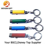 Luces coloridas de Keychain del metal portable