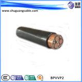 Al изолированный XLPE Corrugated и обшитый PE высоковольтный силовой кабель