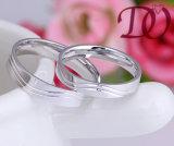 Anillo al por mayor de la bodas de plata para los hombres y las mujeres
