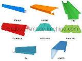 La Cresta de encuadernación y Flashings cubierta de paneles sándwich